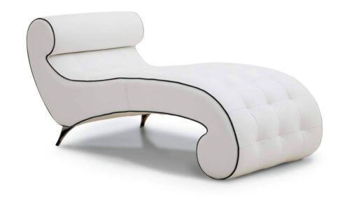 Variation #32637 of Minuet Chaise Longue Leather
